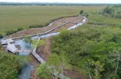 PMA autua infrator em R$ 10 mil por desmatamento ilegal de matas ciliares e em várzea do rio Formoso em Bonito