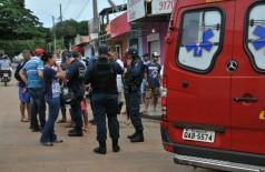 Vítima teve taumatismo crâniano e não resistiu (Foto: Valdenir Rezende/Correio do Estado)