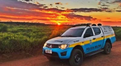 Ocorrência foi atendida por equipe da Polícia Militar Rodoviária (Foto: Divulgação/PM-MS)