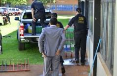 Busca e apreensão e prisões miraram Prefeitura de Dourados e Câmara de Vereadores (Foto: Eliel Oliveira)