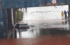 Ano chuvoso, 2018 teve alagamentos em Dourados (Foto: Reprodução/Facebook)