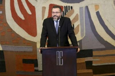 Informação foi passada por Ernesto Araújo, que comandará a pasta (Foto: Fabio Rodrigues Pozzebom/Agência Brasil)