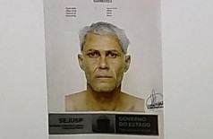 Suspeito de tentativa de sequestro teve retrato falado divulgado pela polícia (Foto: Bruna Kaspary)