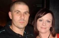 Stuart Carless e a ex: ciúme doentio - Foto: Reprodução