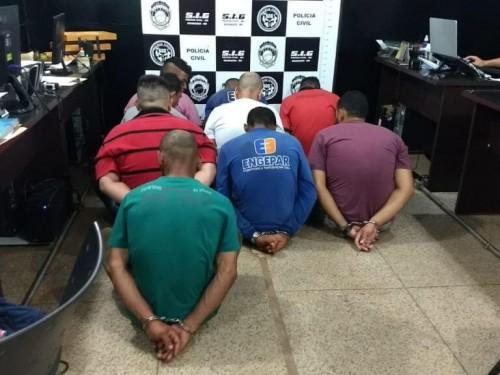 Seis internos foram presos envolvidos na morte de Jhonatan, e um outro, também acabou detido porque estava com drogas (Foto: Sidnei Bronka)