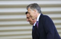O presidente Jair Bolsonaro recebe o presidente da Argentina, Mauricio Macri, para almoço no Palácio do Itamaraty. - Marcelo Camargo/Agência Brasil