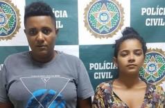 Dupla foi presa, acusada de torturar uma criança de apenas dois anos - Foto: Divulgação