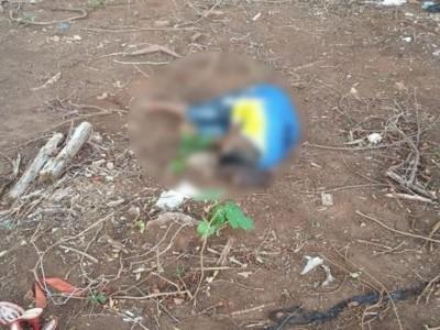 Idaelson foi morto com oito tiros e deixado em uma estrada. (Foto: Diário Corumbaense)