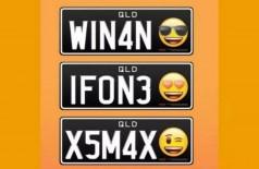 Possíveis placas com emojis na Austrália - Foto: Reprodução/Instagram