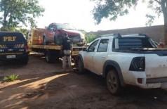 Veículos recuperados pela PRF - Foto: divulgação/PRF