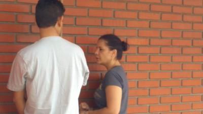 Valdirene foi presa dia 13 de fevereiro acusada de mandar matar o marido (Foto: Sidnei Bronka)
