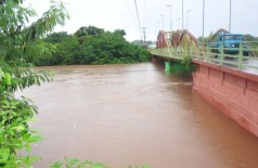 Rio Aquidauana atinge nível de alerta e Defesa Civil monitora situação (Foto: reprodução)