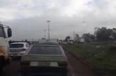 Trânsito caótico na região do Trevo do DOF já havia gerado alerta de moradores (Foto: 94FM)