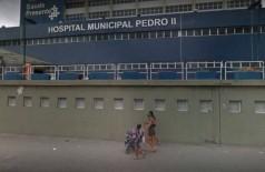 O Hospital Pedro II, onde esteve internado - Foto: Google Street View / Divulgação