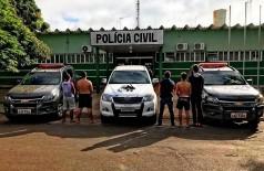DOF desarticula quadrilha e liberta reféns em cárcere privado (Foto: reprodução/DOF)