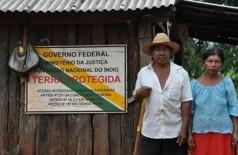Área na fronteira com o Paraguai, Terra indígena Yvy Katu foi demarcada em 2005 (Foto: Divulgação/MPF-MS)
