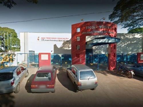 O furto ocorreu no fim de semana (Foto: reprodução/Google/Maps)
