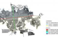 Edital de licitação prevê cidade dividida entre Norte e Sul para o tapa-buracos (Foto: Reprodução)