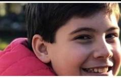 O pequeno Nicolas Lima H. Ferruzzi, de 11 anos, morreu nesta sexta-feira (22) - (Foto: reprodução)