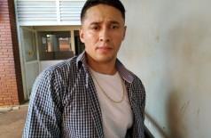 Suspeito de estelionato preso em Dourados seria Hassan Fadel, um libanês de 29 anos (Foto: Sidnei Bronka)