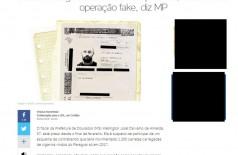 Reportagem do Portal UOL detalha acusação contra servidor municipal de Dourados (Foto: Reprodução)