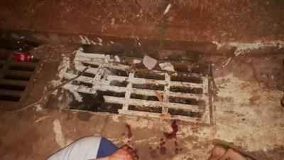Bueiro quebrado localizado na Rua Demenciano de Matos Pereira - Foto: divulgação/94FM