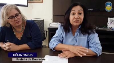 Vídeo divulgado em 15 de março tinha promessa de licitação para tapa-buracos (Foto: Reprodução)