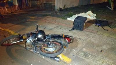 A vítima trabalhava em uma lanchonete do município - Fotos: Adilson Domingos