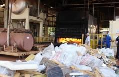 Drogas apreendidas na região serão incineradas em farinheira de Dourados (Foto: Divulgação/DOF)