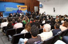 Audiência sobre psicólogos e assistentes sociais nas escolas foi realizada na Assembleia Legislativa ( Foto: Wagner Guimarães)