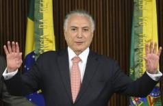 O ex-presidente Michel Temer é acusado de crimes de corrupção relacionados à construção da Usina Nuclear Angra 3. - Antonio Cruz/ Agência Brasil