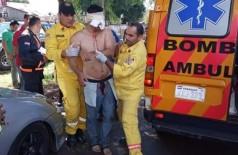 Imagens fortes: estudante de medicina arranca olho com as próprias mãos (Foto: reprodução/3 de Julho notícias )