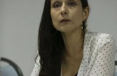 Relatora especial da ONU, Alice Cruz, fala sobre eliminação da discriminação contra pessoas afetadas pela hanseníase e seus familiares (Foto: José Cruz/Agência Brasil)