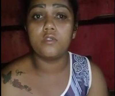 Rosimar Gomes de Souza da Cruz, de 27 anos, e seria moradora no Tocantins (Foto: reprodução/vídeo)