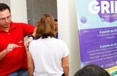 Mato Grosso do Sul vacina 462 mil pessoas contra influenza (Foto: reprodução)