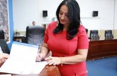 Após ter mandato de vereadora cassado, Denize Portolann foi à Justiça por R$ 82 mil de salários