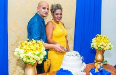 Marlon casou com a vítima 28 dias antes de Fabiane ser sequestrada e morta - Foto: Reprodução Álbum de família
