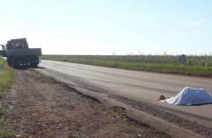 O acidente ocorreu por volta das 08h30, na MS-162, que liga Sidrolândia a Maracaju. Foto: Sidrolandia News