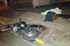 Acidente com vítima fatal no dia 13 de abril em Dourados - Foto: Adilson Domingos