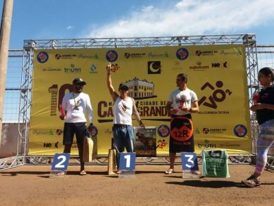 Itamar Viana conquistou bicampeonato seguido por Anízio Silva, também de Dourados (Foto: Divulgação)