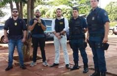 Policiais realizam rondas em escolas de Itaporã - Foto: J.C. Escabora/Itaporã News