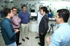 Prefeitura chegou a divulgar que diretor de Atenção Especializada do Ministério da Saúde atestou estrutura de Oncologia de Dourados (Foto: A. Frota)