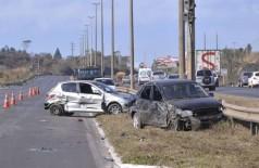 Acidentes no trânsito deixaram mais de 1,6 milhão feridos em 10 anos (Foto: Arquivo/Agência Brasil)