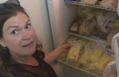 Jodi Neidert doou 19 litros de leite materno à golpista (Foto: Reprodução/CBC)