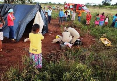 Os dois foram atingidos por um raio no final da tarde de ontem -Crédito: Vilson Nascimento/A Gazeta News