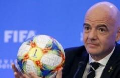 Presidente da Fifa, Gianni Infantino RHONA WISE / AFP
