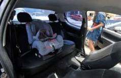 Detran explica transporte de bebês em veículos de aluguel (Foto: Arquivo/Agência Brasil)