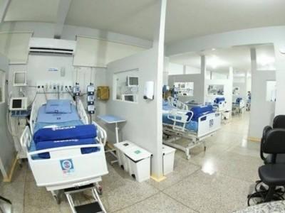 Intensicare administra os 20 leitos do Hospital da Vida; empresa afirma que Funsaud, de Dourados, deixou de efetuar pagamentos em dia. (Foto: Helio de Freitas/Arquivo)
