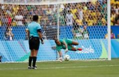 Rio de Janeiro - Seleção brasileira de futebol feminino nas Olimpíadas do Rio (2016).  Fernando Frazão/Agência Brasil