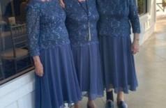 Avós usam o mesmo vestido em casamento Foto: Reprodução/Twitter(Alex Campisi @aacampisi)